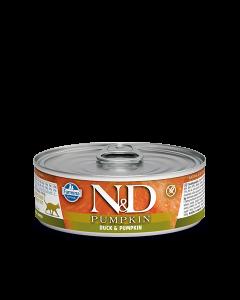 Farmina N&D - Pumpkin Duck konzerva za mačke 80g