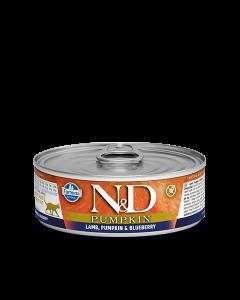 Farmina N&D - Pumpkin Lamb & Blueberry konzerva za mačke 80g