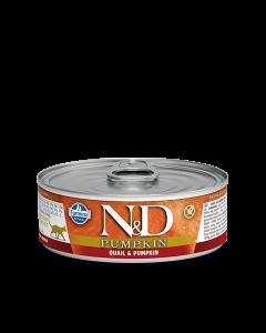 Farmina N&D - Pumpkin Quail konzerva za mačke 80g