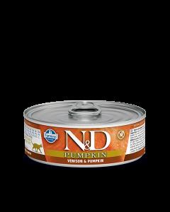 Farmina N&D - Pumpkin & Venison konzerva za mačke 80g