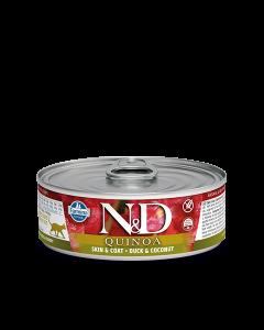 Farmina N&D - Quinoa Duck & Coconut konzerva za mačke 80g