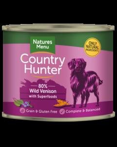 Natures Menu - Country Hunter pločevinka divjačina in borovnice 600g