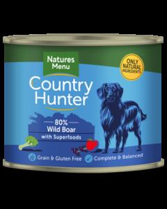 Natures Menu - Country Hunter divja svinja in črni ribez 600g
