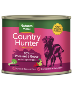 Natures Menu - Country Hunter fazan in gos 600g