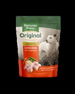 Natures Menu - Complete Meal mesna vrečka s piščancem 300g
