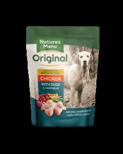 Natures Menu - Complete Meal mesne vrečke piščanec in raca 300g