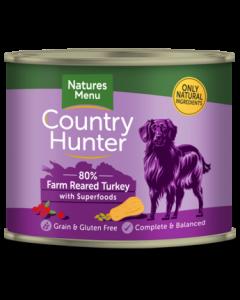 Natures Menu - Country Hunter pločevinka puran in brusnice 600g