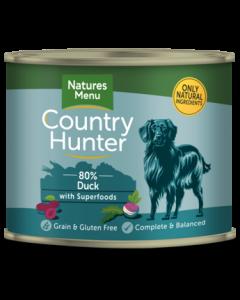 Natures Menu - Country Hunter pločevinka raca in slive 600g