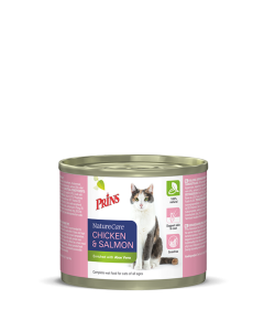 Prins - NatureCare Chicken & Salmon konzerva za mačko 200g