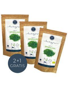 Loving Paw - Spirulina v prahu iz ekološke pridelave 2+1 gratis