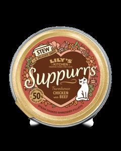 Lily's Kitchen - Suppurrs obara za mačke s piščancem in govedino