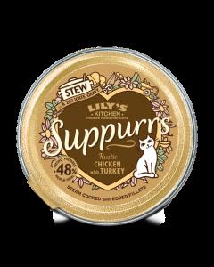 Lily's Kitchen - Suppurrs obara za mačke s piščancem in puranom