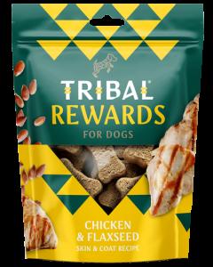 Tribal - Piščanec in laneno seme naravni priboljški za pse 125g