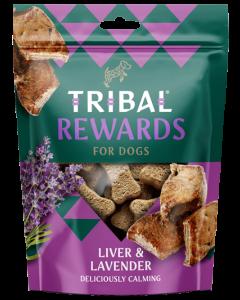Tribal - Jetrca in sivka naravni priboljški za pse 125g