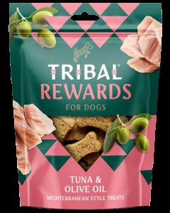 Tribal - Tuna in olivno olje naravni priboljški za pse 125g