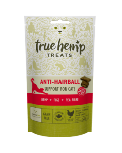 True Hemp - Mačji priboljški ANTI HAIRBALL 50g