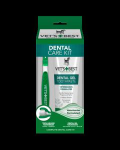 Vet's Best - Dental Care set encimski gel in zobna ščetka