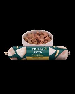 Tribal - 80% svež piščanec monoproteinska mokra hrana za pse 750g