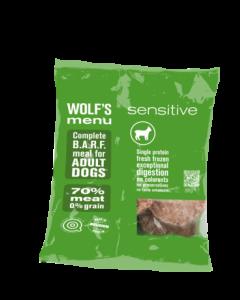 Wolf's Menu - Sensitive MONO jagnjetina 800g