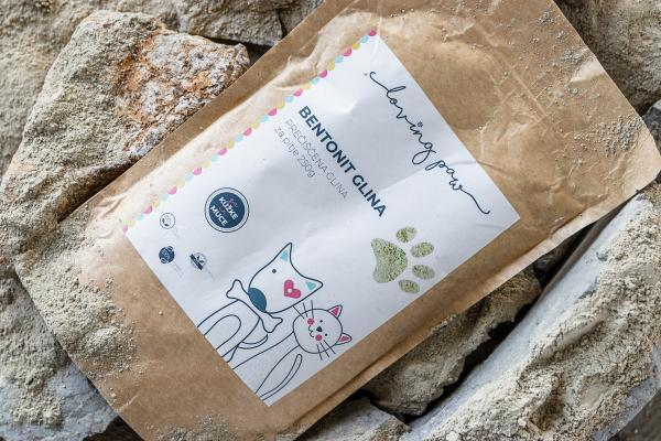 Kako se uporablja bentonitna glina za kužke in muce?